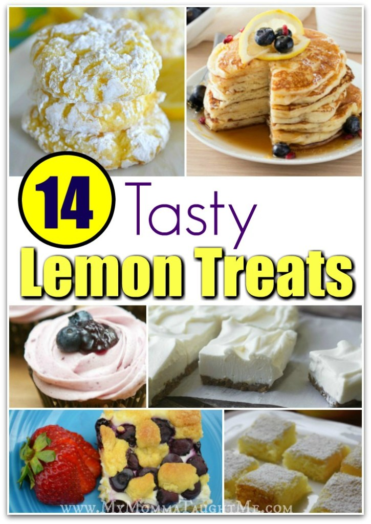 14 Tasty Lemon Treats