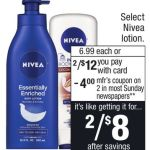 Nivea Lotion Deal At Cvs