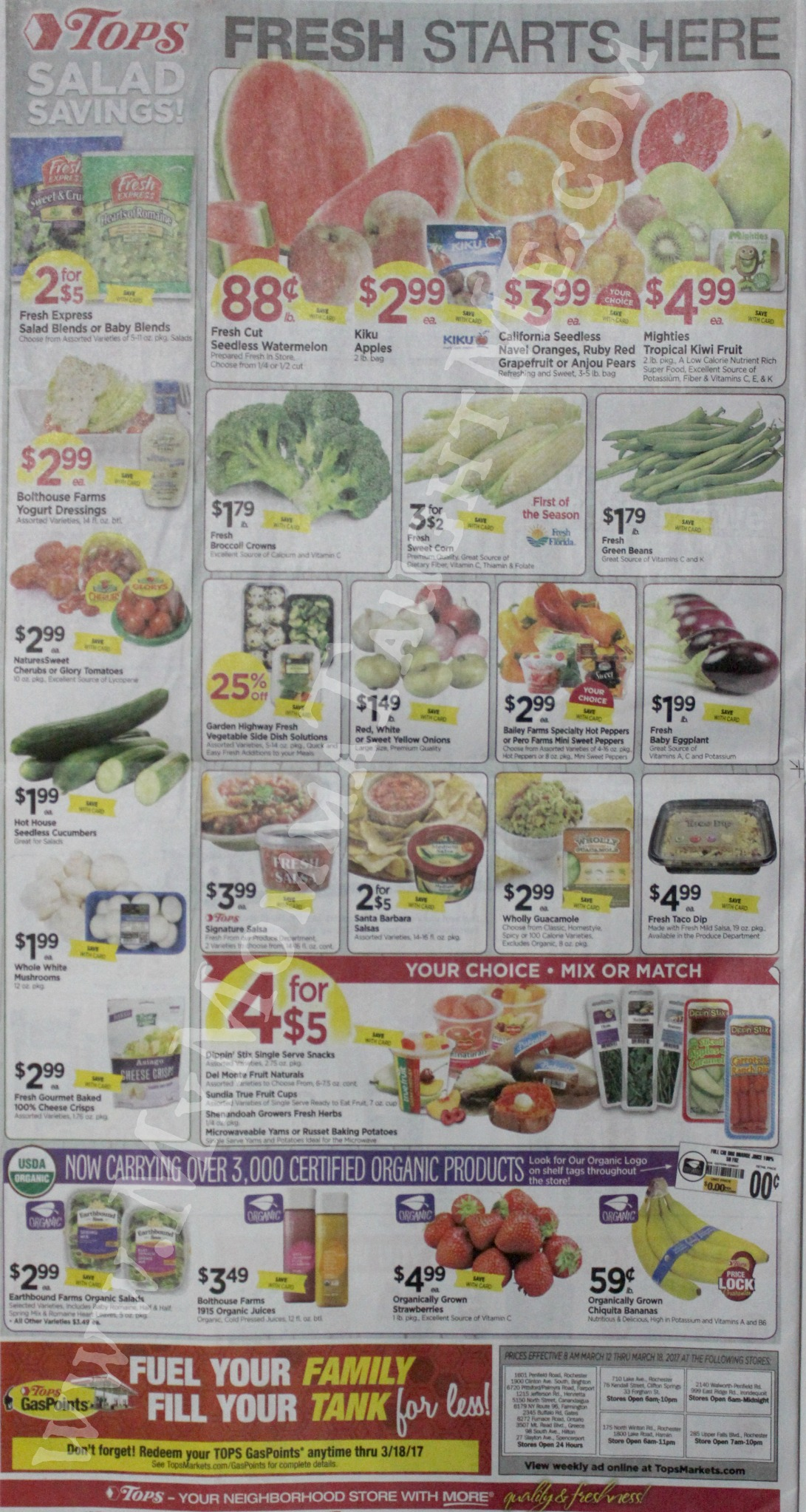 Tops Markets Ad Scan Week Of 3 12 17 To 3 18 17 Page 10