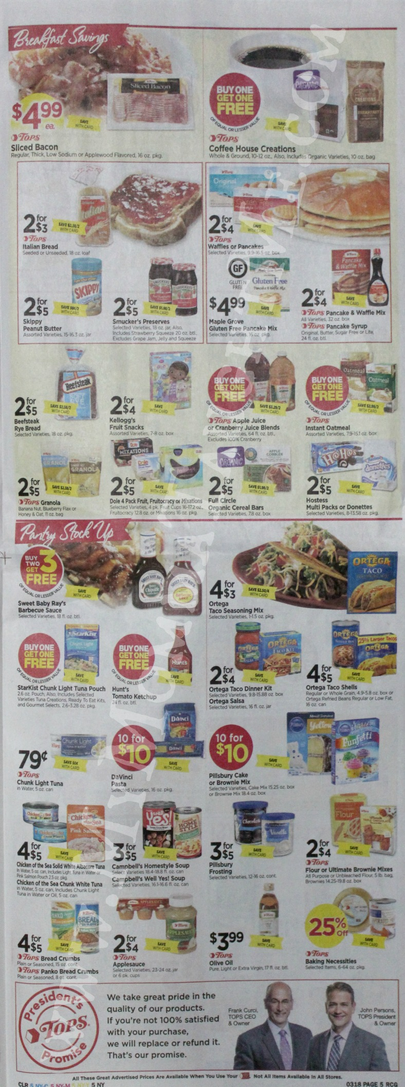 Tops Markets Ad Scan Week Of 3 12 17 To 3 18 17 Page 5