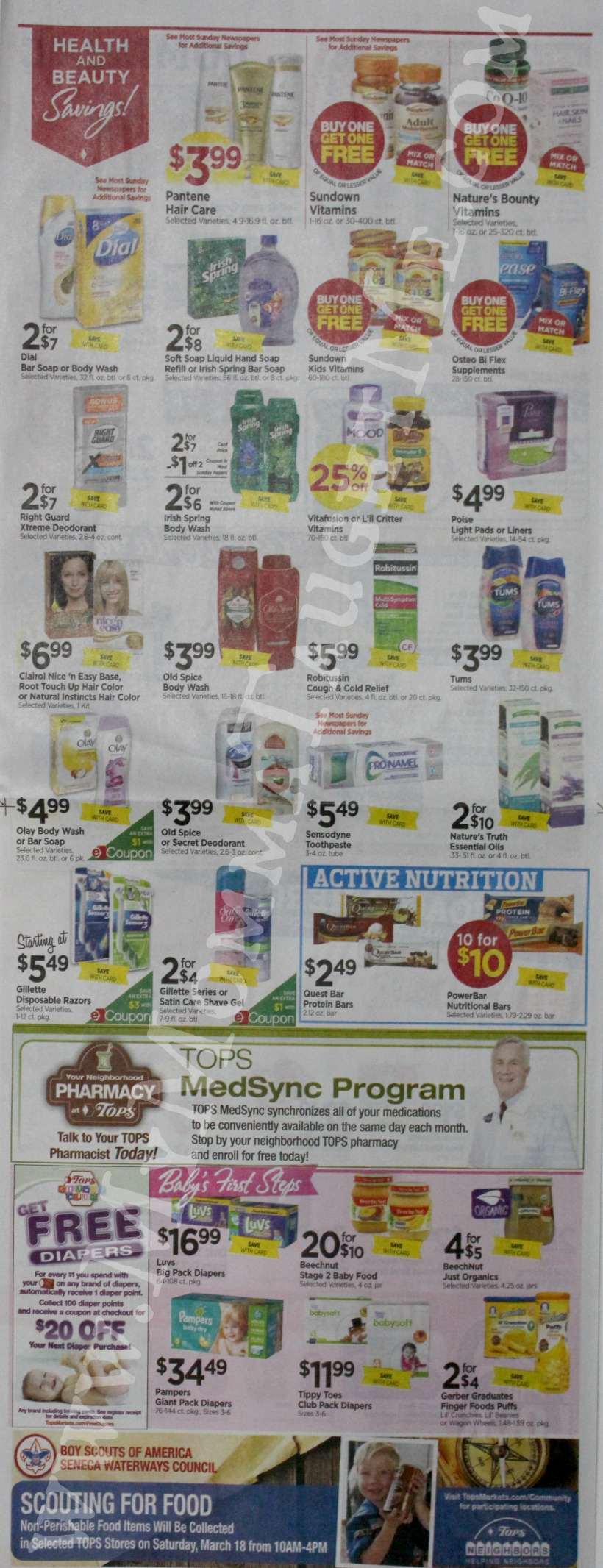 Tops Markets Ad Scan Week Of 3 12 17 To 3 18 17 Page 7