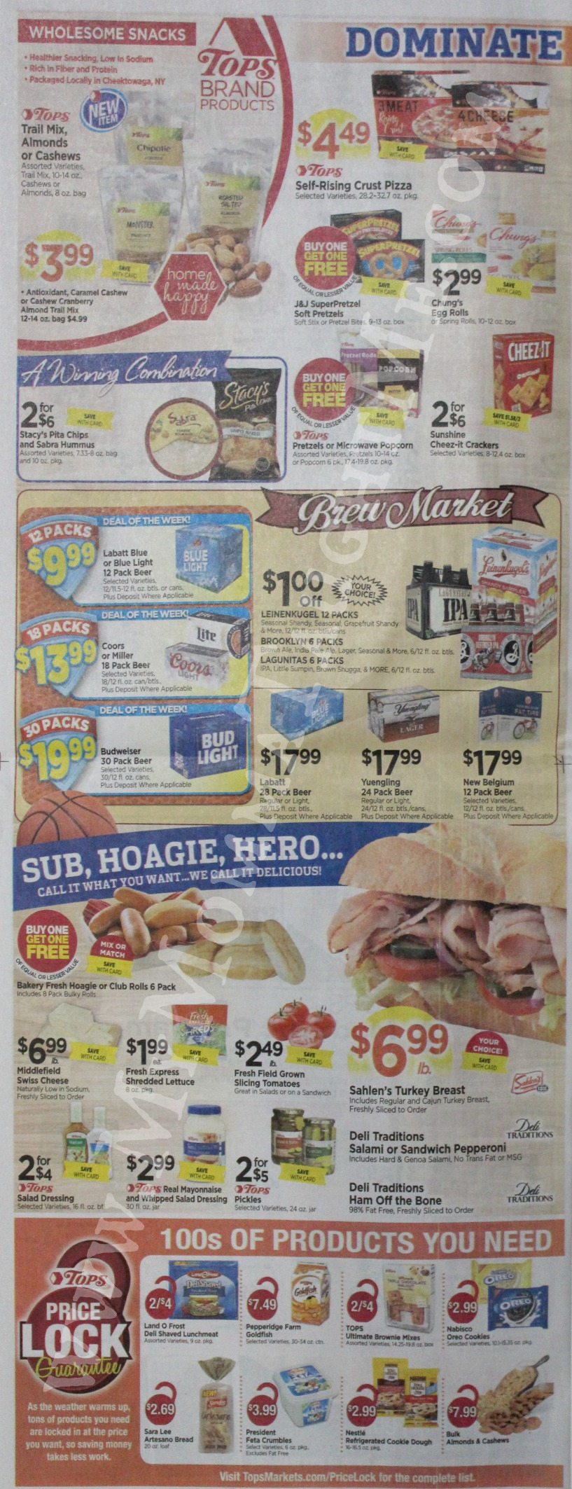 Tops Markets Ad Scan Week Of 3 12 17 To 3 18 17 Page 8