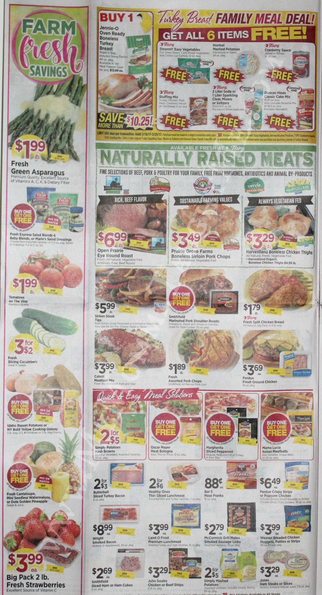 Tops Markets Ad Scan Week Of 3 19 17 To 3 25 17 Page 2