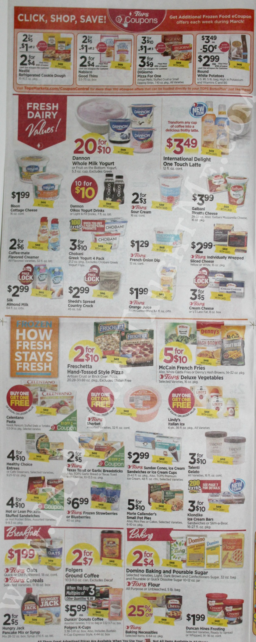 Tops Markets Ad Scan Week Of 3 19 17 To 3 25 17 Page 4