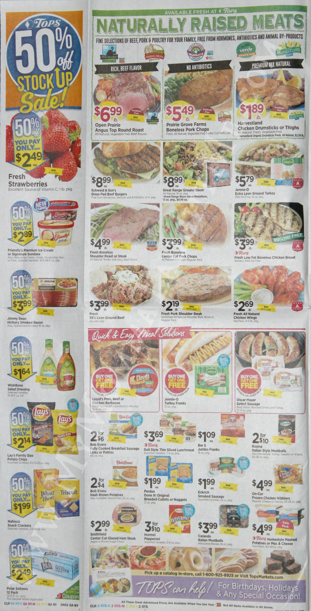 Tops Markets Ad Scan Week Of 3 26 17 To 4 1 17 Page 2