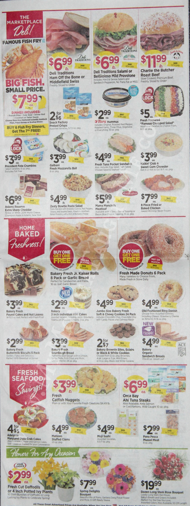 Tops Markets Ad Scan Week Of 3 26 17 To 4 1 17 Page 3