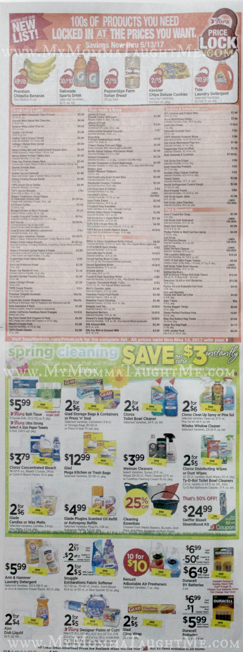 Tops Markets Ad Scan Week Of 3 5 17 To 3 11 17 Page 6