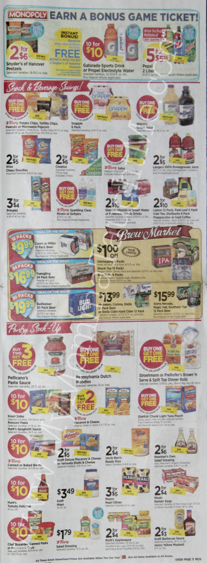 Tops Markets Ad Scan Week Of 4 2 17 To 4 8 17 Page 5
