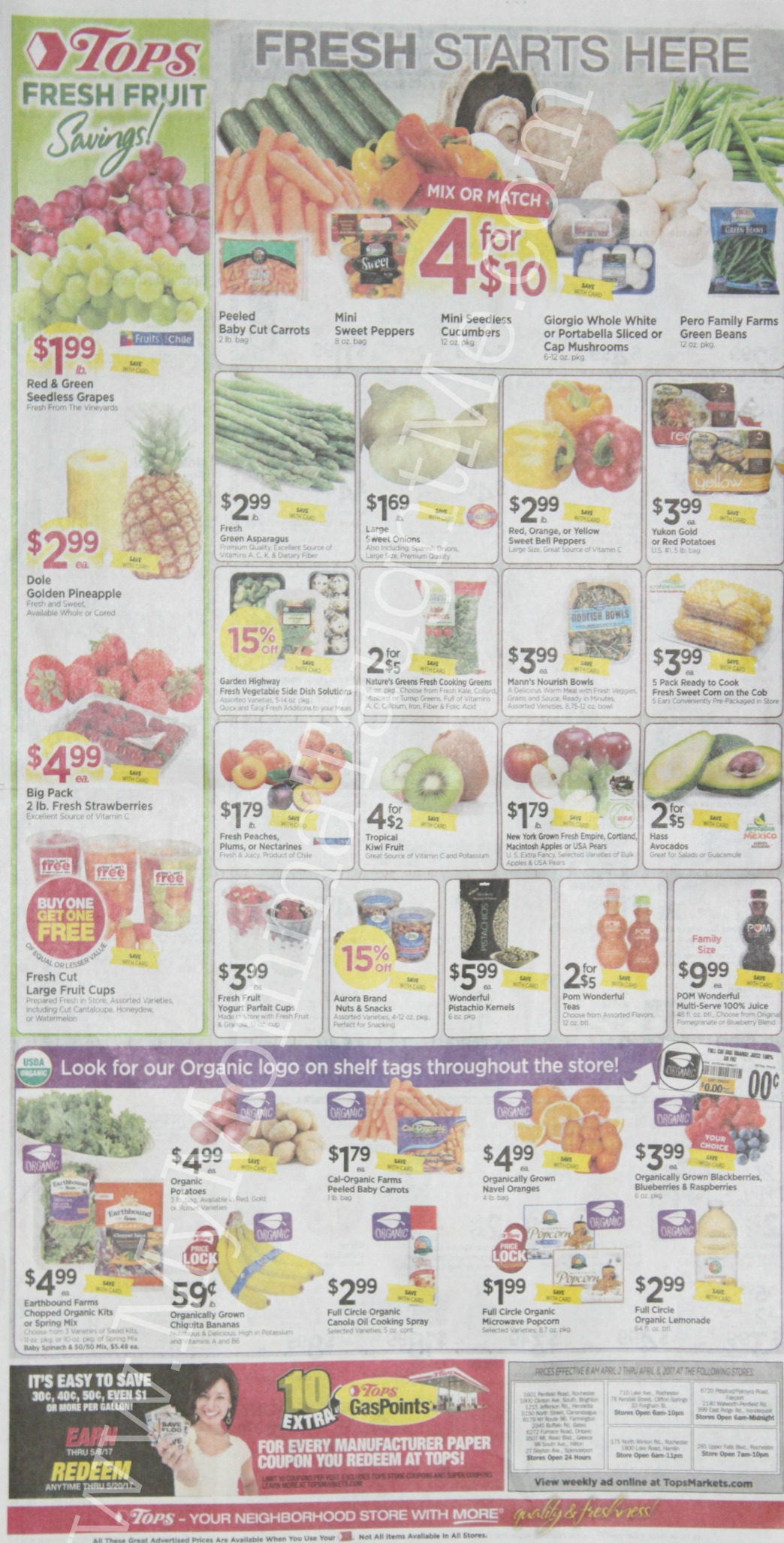 Tops Markets Ad Scan Week Of 4 2 17 To 4 8 17 Page 8
