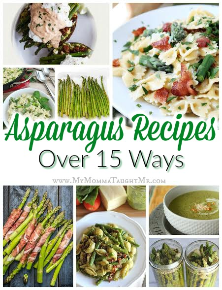 Aparagus Recipe Round Up