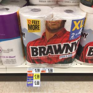 Brawny Paper Towels 2 Pack Clearanced At Tops Markets