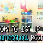 How To Set Up A Homeschool Room