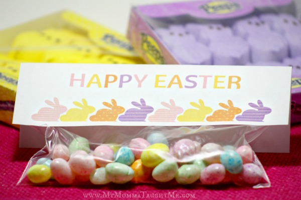 Printable Easter Baggie Topper
