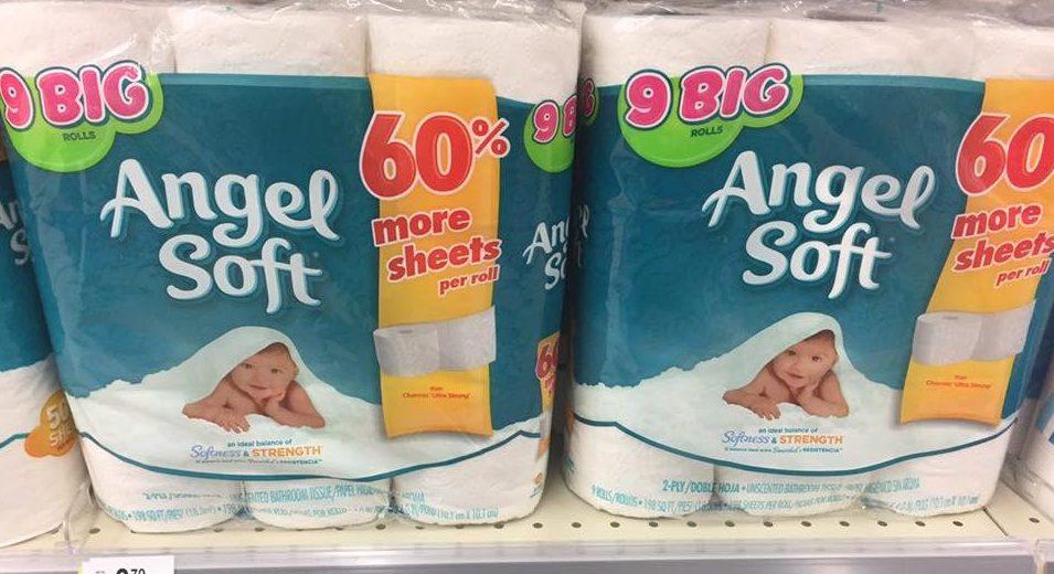 angel soft bath tissue only 0 28 a big roll at walgreens my momma