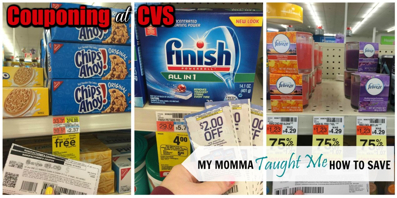Couponing At CVS With My Momma Taught Me