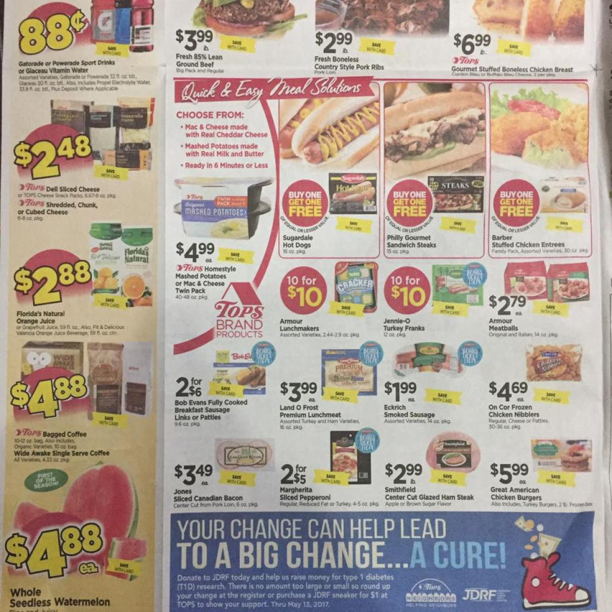 Tops Markets Ad Scan Week Of 4 23 17 To 4 29 17 Page 2b