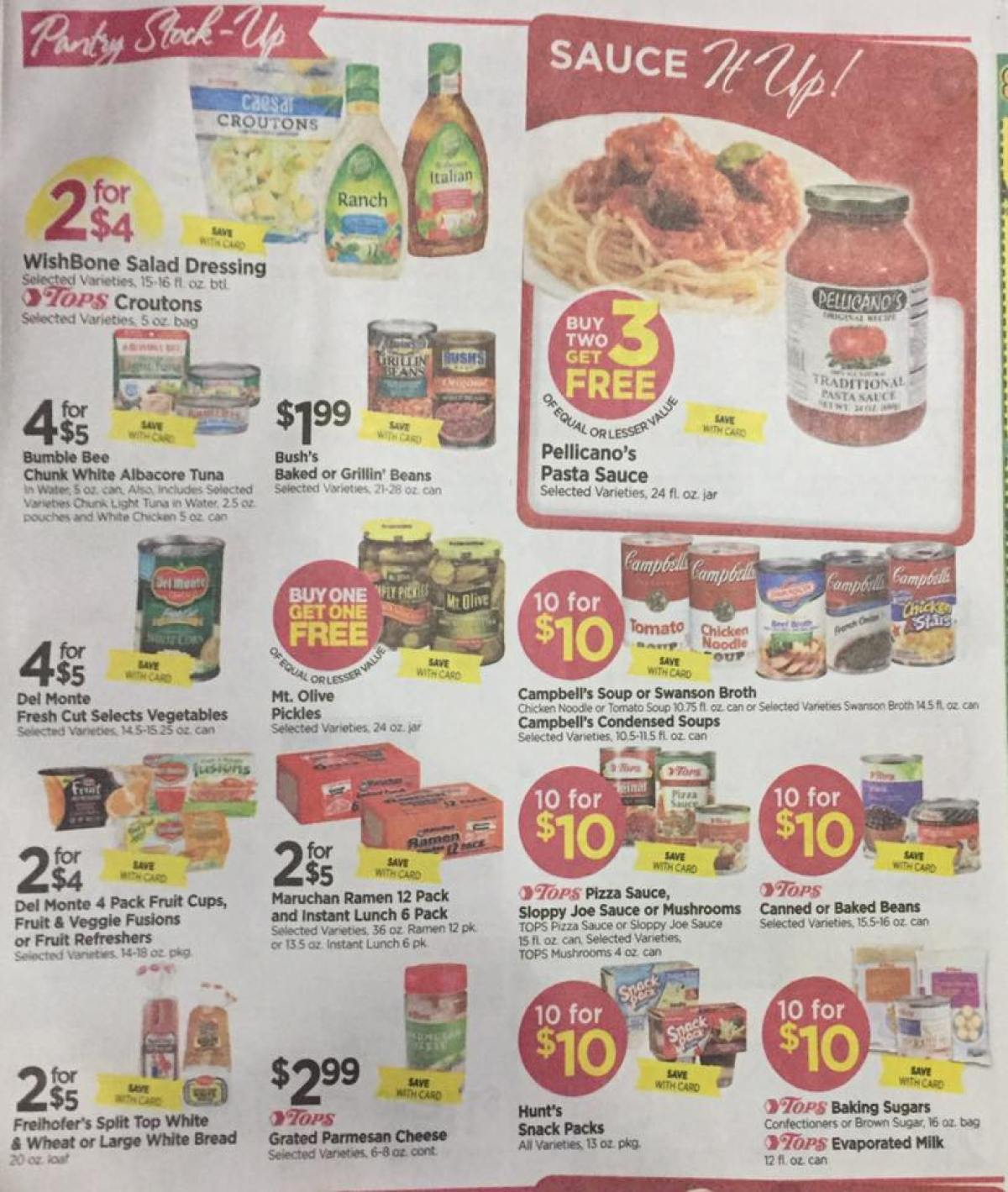 Tops Markets Ad Scan Week Of 4 23 17 To 4 29 17 Page 5a
