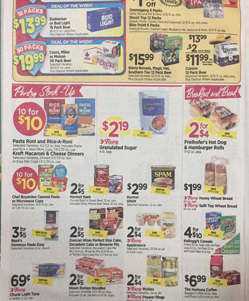 Tops Markets Ad Scan Week Of 4 30 17 To 5 6 17 Page 6b