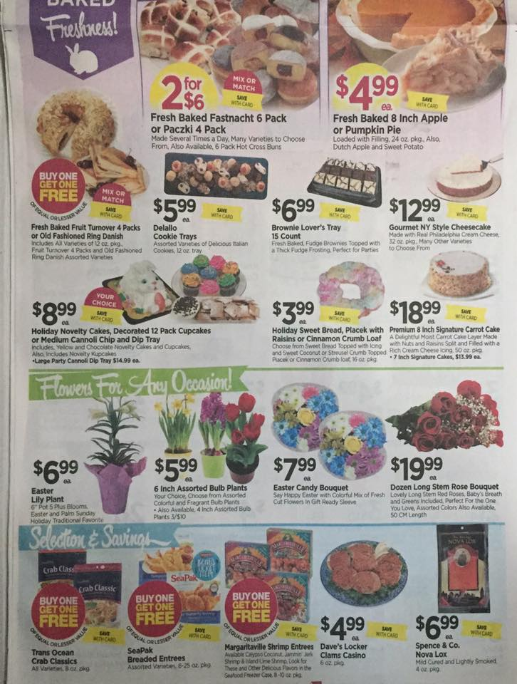 Tops Markets Ad Scan Week Of 4 9 17 To 4 15 17 Page 3b