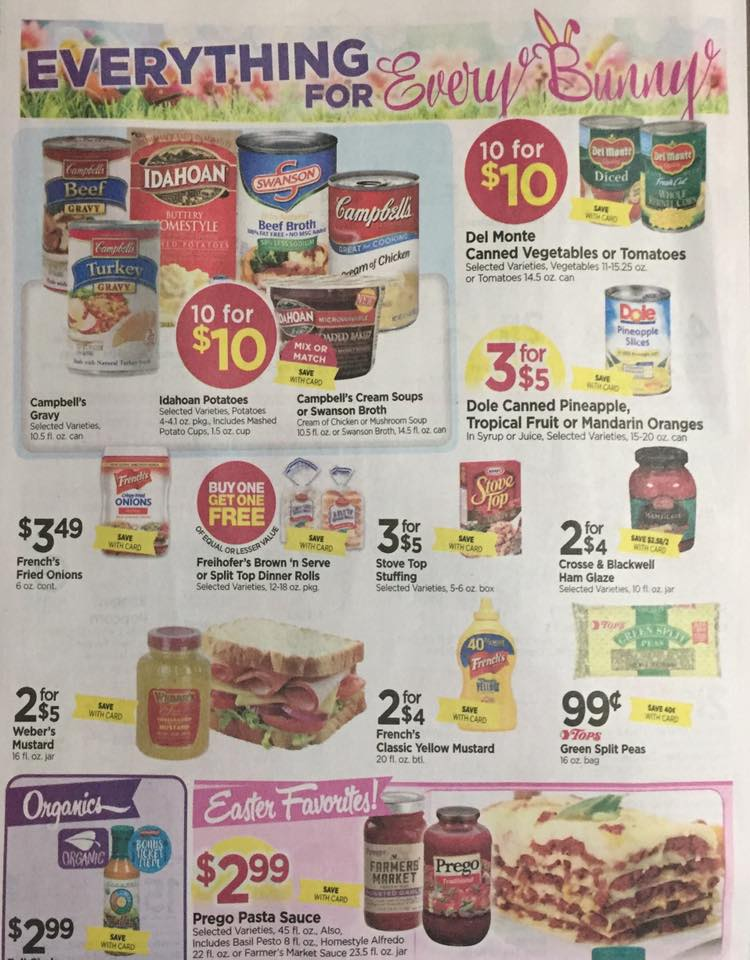 Tops Markets Ad Scan Week Of 4 9 17 To 4 15 17 Page 6a