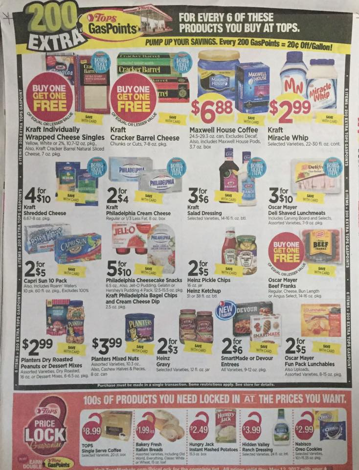 Tops Markets Ad Scan Week Of 4 9 17 To 4 15 17 Page 7b