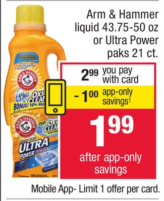Arm And Hammer Deal At Cvs