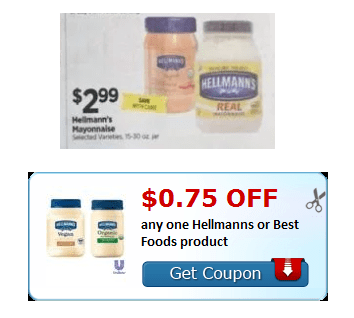 Hellmanns Organic Mayo Deal At Tops