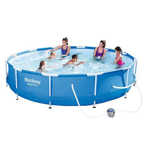 Bestway Steel Pro 12 X 30 Frame Pool At Kohls