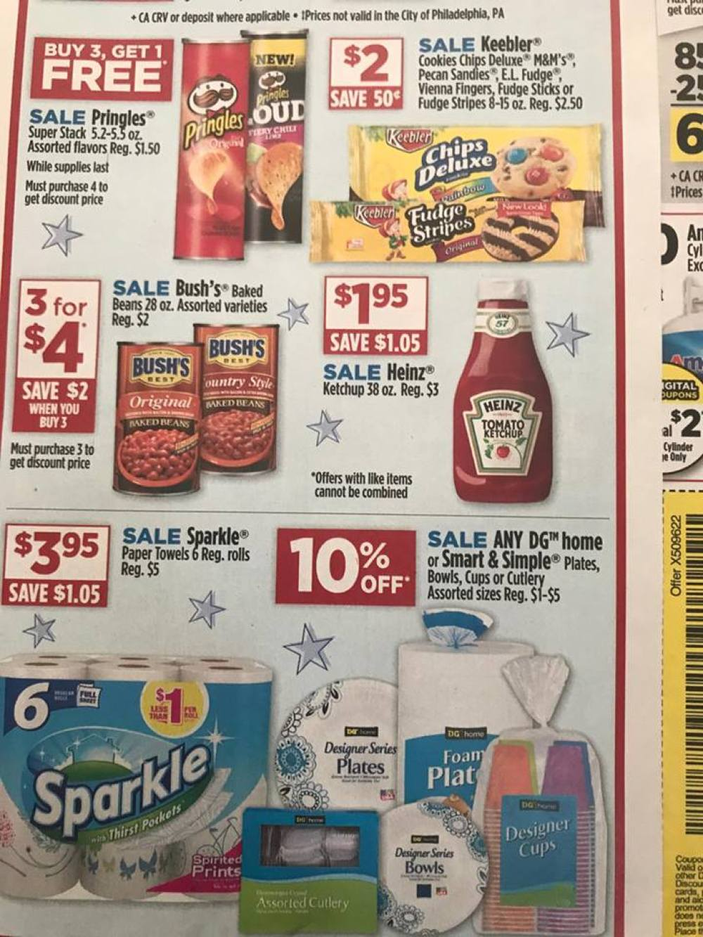 Dollar General Ad Week Of 5 21 3 Day Sale 1a