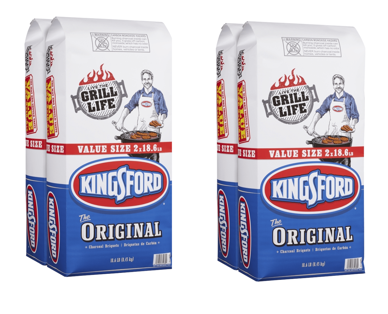 Kingsford 2 Pack 18 6 Lb Charcoal Briquettes At Lowes Or Home Depot