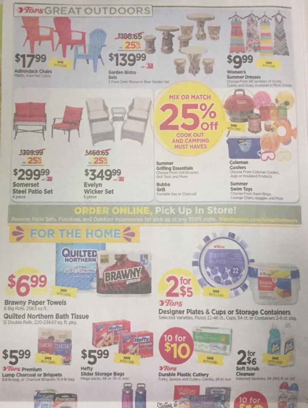 Tops Markets Ad Scan Week Of 5 28 17 To 6 3 17 Page 8a