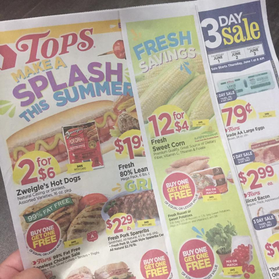 Tops Markets Ad Scan Week Of 5 28 17 To 6 3 17
