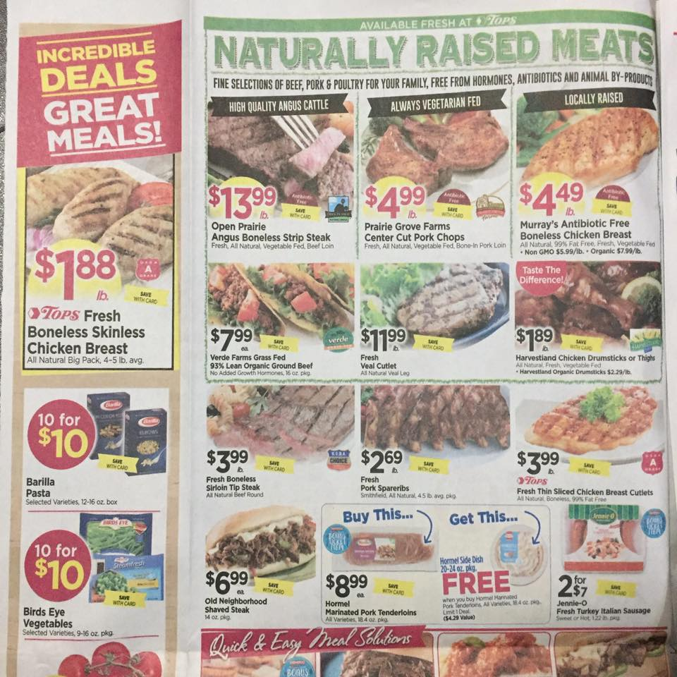 Tops Markets Ad Scan Week Of 5 7 17 To 5 13 17 Page 2a