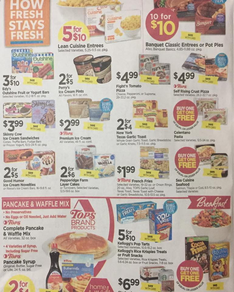 Tops Markets Ad Scan Week Of 5 7 17 To 5 13 17 Page 4b