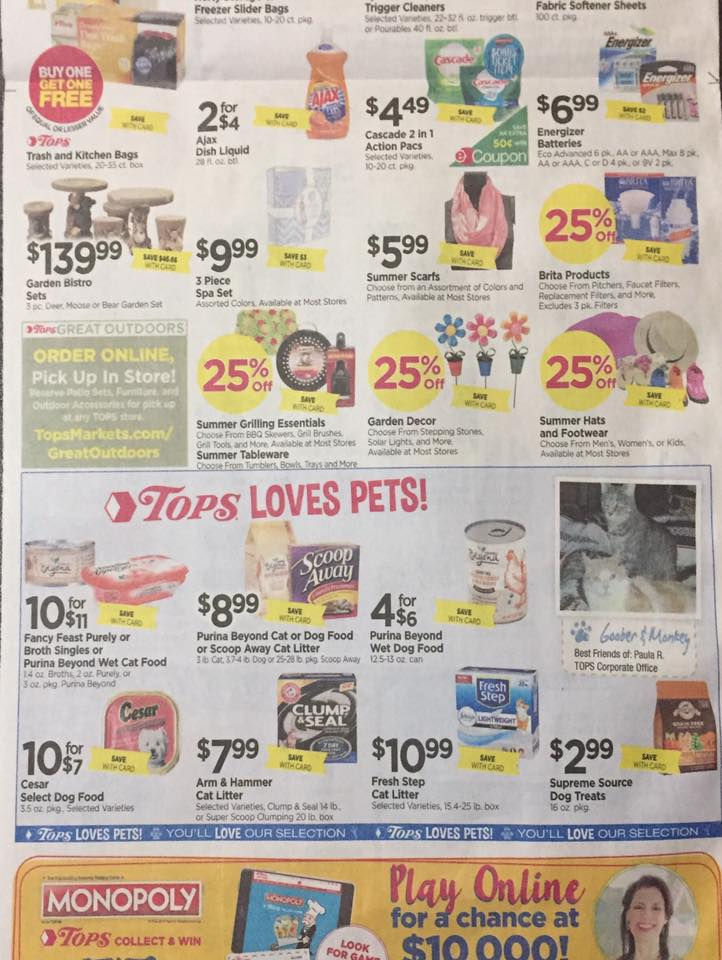 Tops Markets Ad Scan Week Of 5 7 17 To 5 13 17 Page 6b