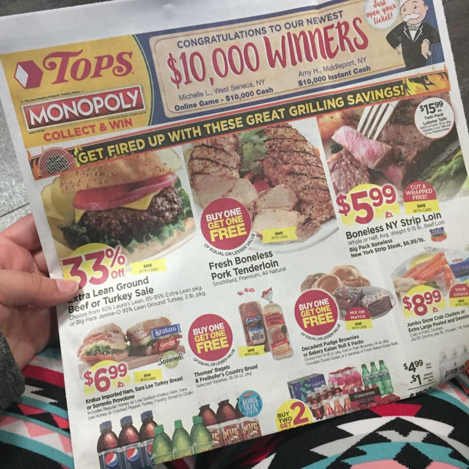 Tops Markets Ad Scan