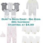 Burt's Bees Baby Savings