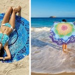 Stylish Round Beach Towels And Blankets