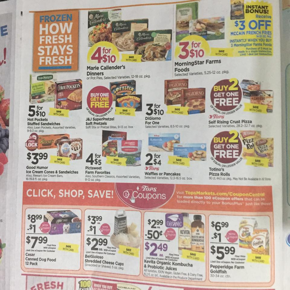 Tops Markets Ad Scan Week Of 7 2 Page 4a