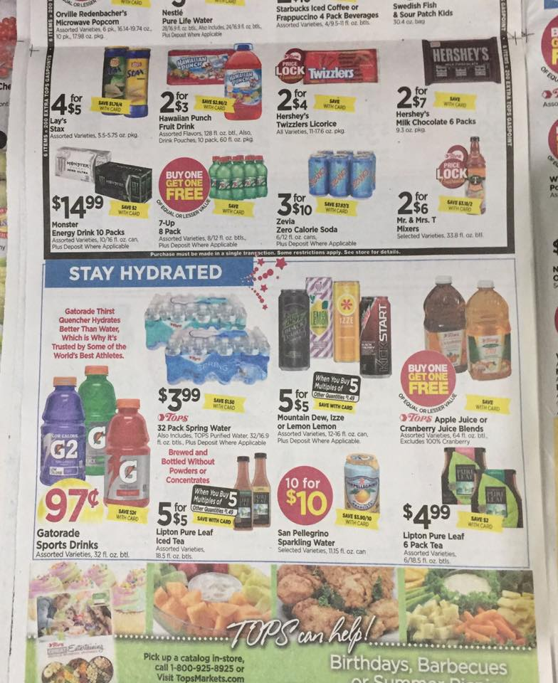 Tops Markets Ad Scan Week Of 7 2 Page 8b