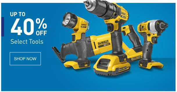 Save Up To 40% On Tools At Lowes