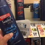 Suave Mens Body Wash