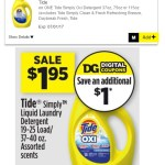 Tide Simply Sale At Dollar General