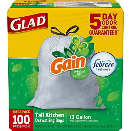 Glad Gain Trash Bags