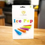 Silicone Ice Pop Maker Molds Popsicle Molds, Set Of 6