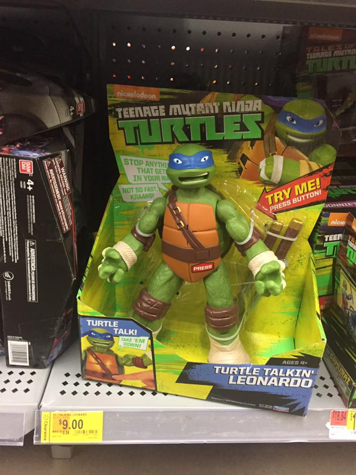 TMNT Toy Walmart Toy Clearance