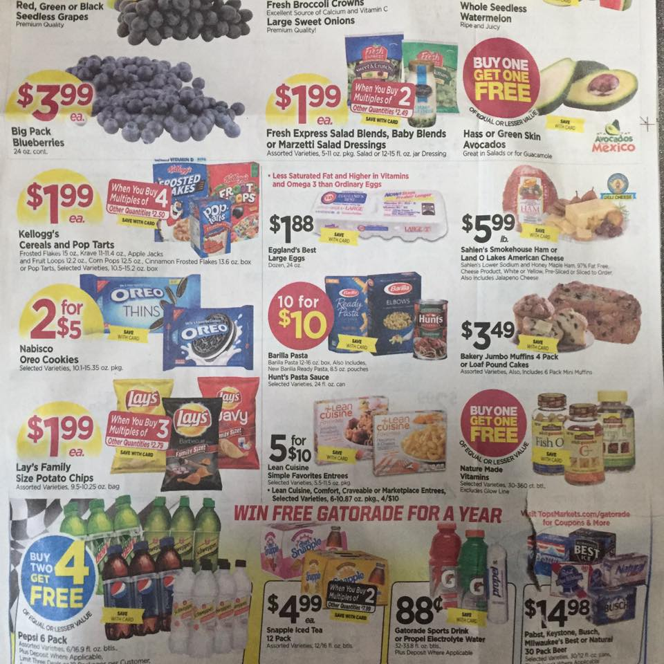 Tops Ad Scan Week Of 7 30 Page 1b