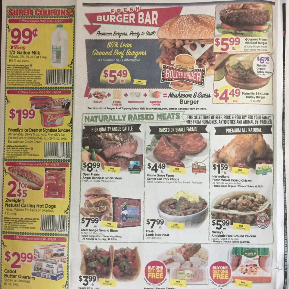 Tops Ad Scan Week Of 7 30 Page 2a