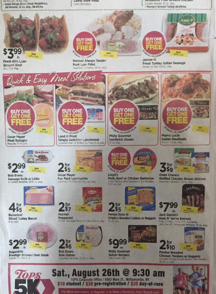 Tops Ad Scan Week Of 7 30 Page 2b
