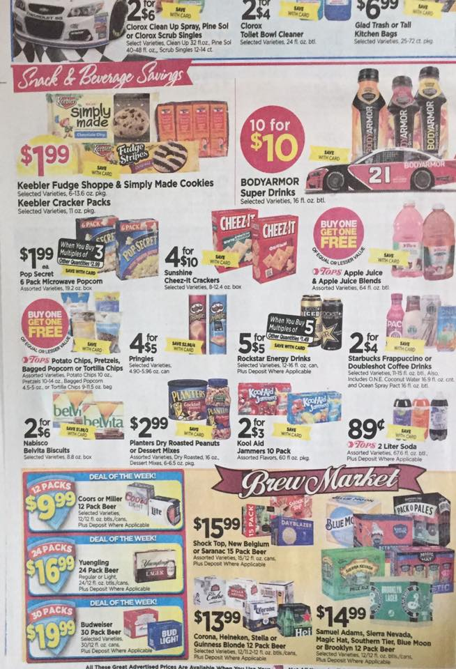 Tops Ad Scan Week Of 7 30 Page 8b